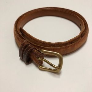 "Vintage COACH leather belt 30"""